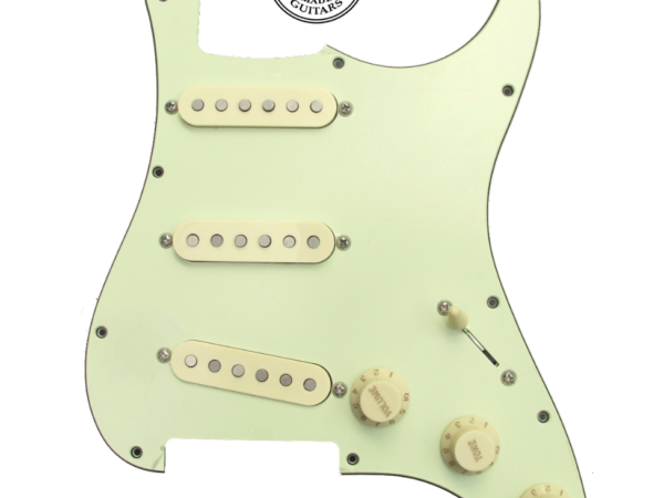 Loaded pickguard Mint Green