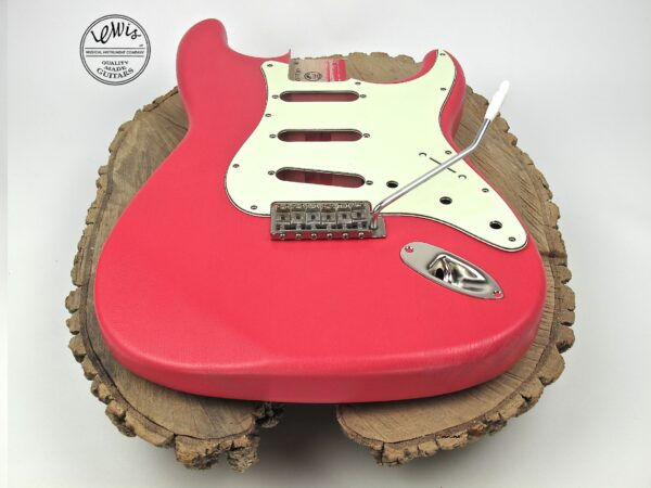 Fiesta Red Ash Body